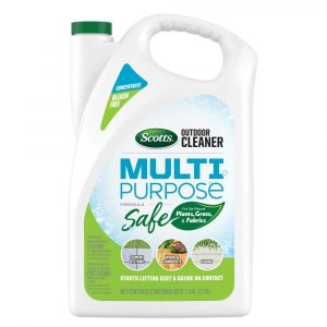 Scotts Outdoor Cleaner Multi Purpose Formula- Concentrate, Bleach-Free, Use on Decks, Siding, Stone and Patio Furniture