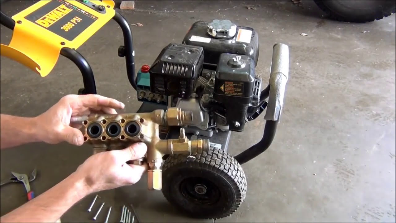 Simple Do It Yourself Pressure Washer Repair Tips